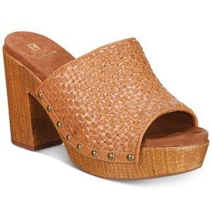 White Mountain Platform Sandals